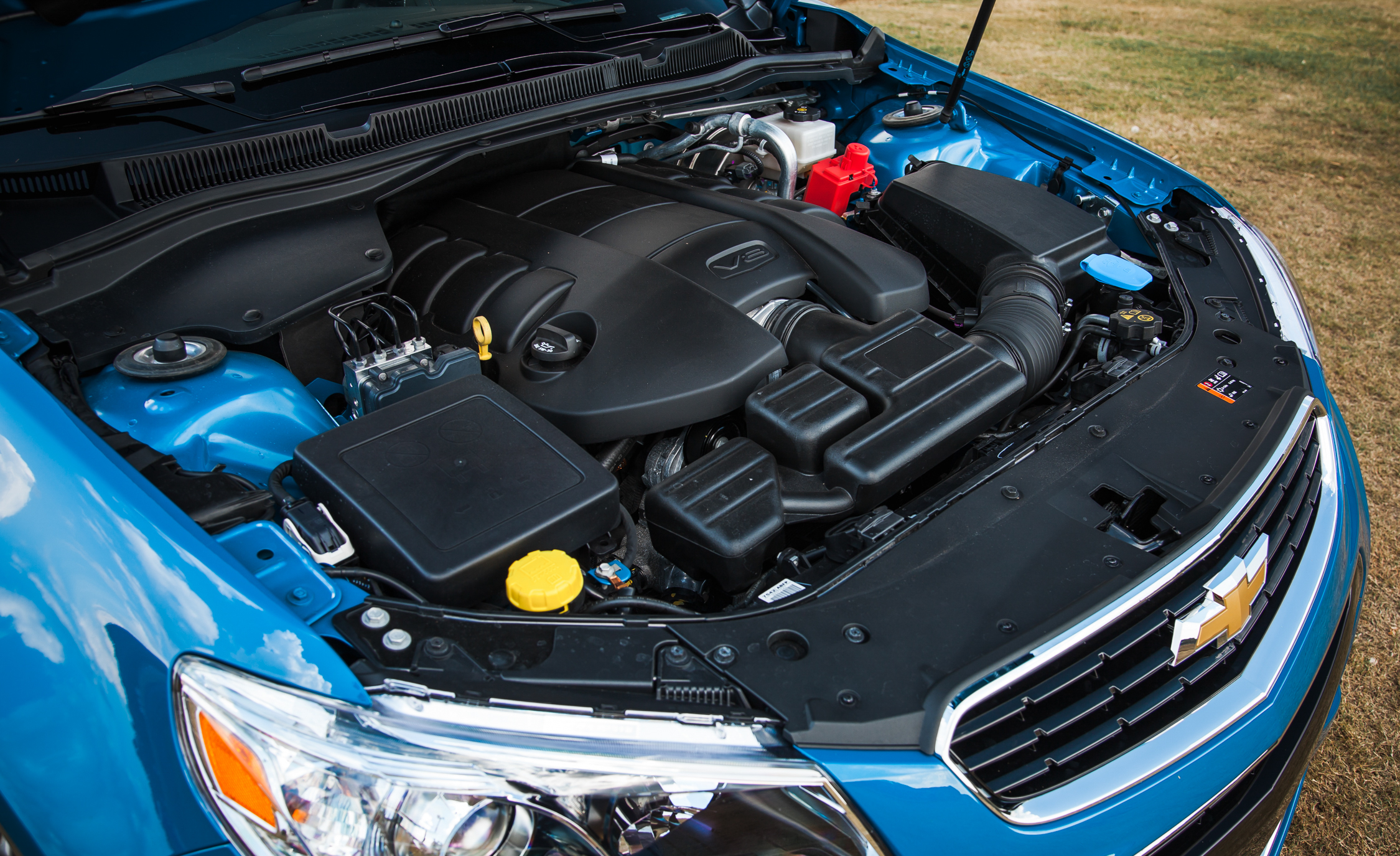 2015 Chevrolet SS 6.2-Liter V-8 Engine