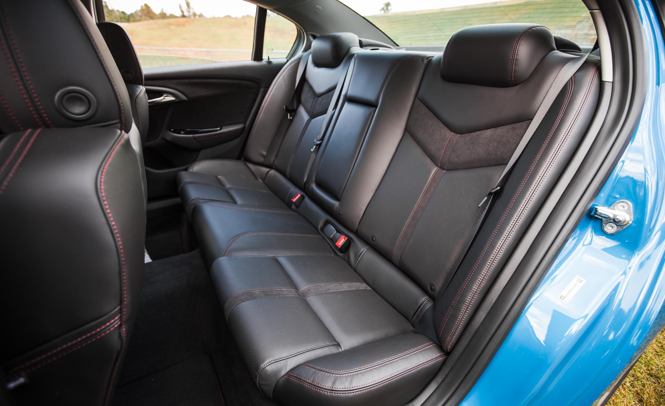 2015 Chevrolet SS Interior Rear Passenger Seats