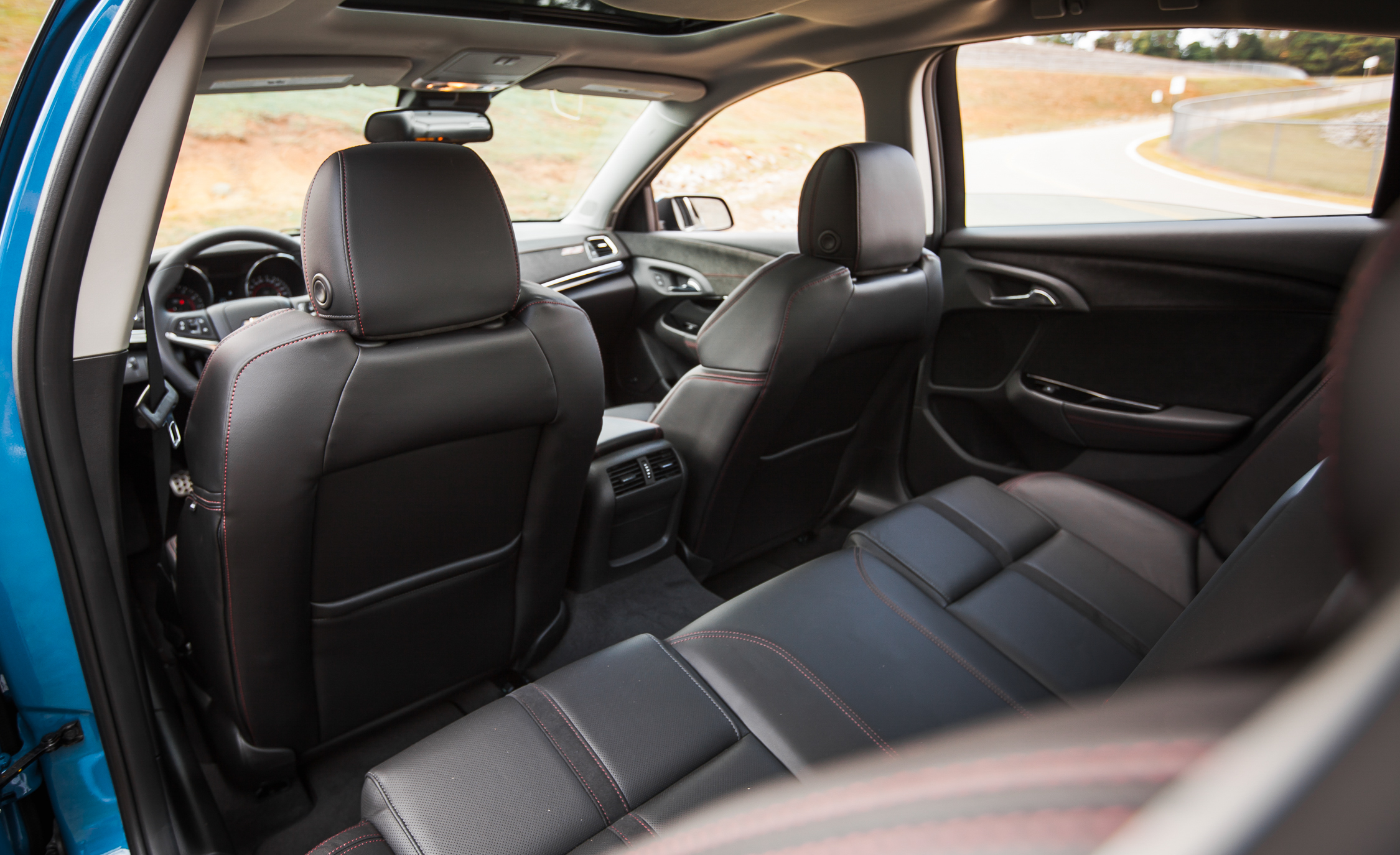 2015 Chevrolet SS Interior Rear Seats Space