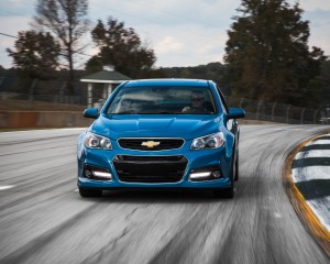 2015 Chevrolet SS Test Front View