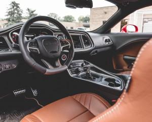 2015 Dodge Challenger SRT Hellcat Interior Cockpit