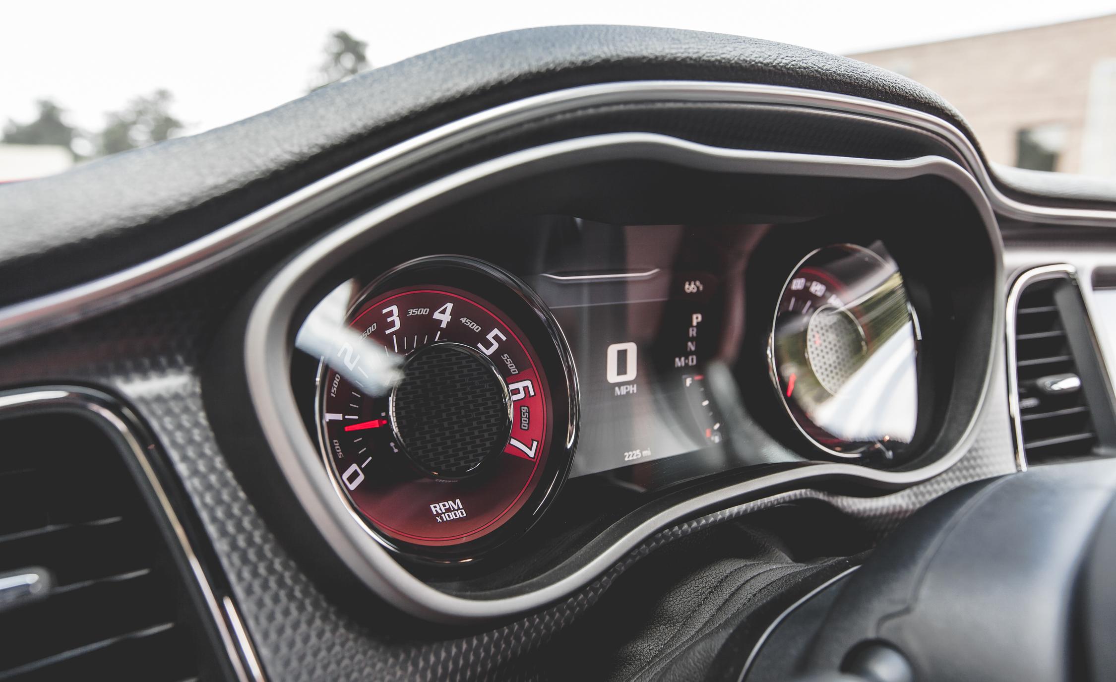 2015 Dodge Challenger SRT Hellcat Interior Speedometer