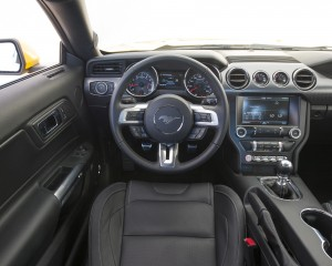 2015 Ford Mustang GT Cockpit and Speedometer