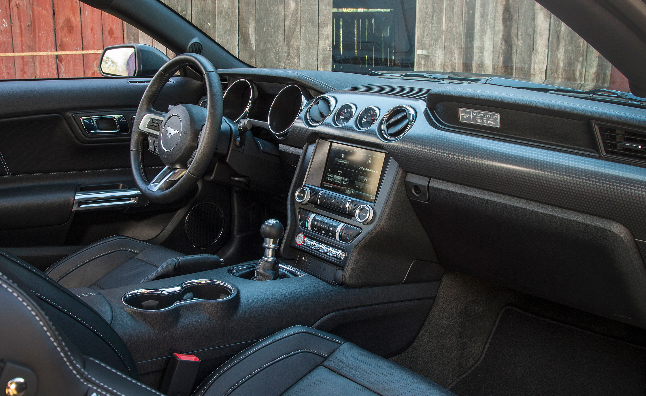2015 ford mustang gt front interior preview - Ford Gt40 2015 Interior