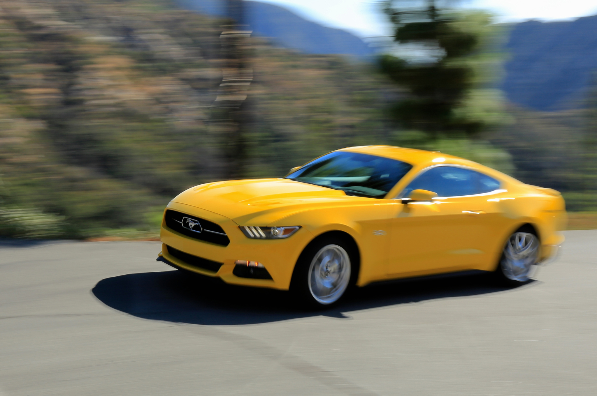 2015 Ford Mustang GT Performance Test