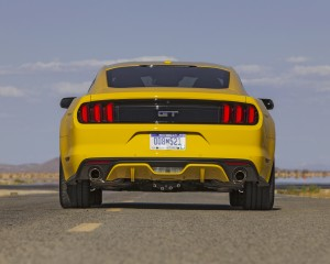 2015 Ford Mustang GT Rear Exterior Preview