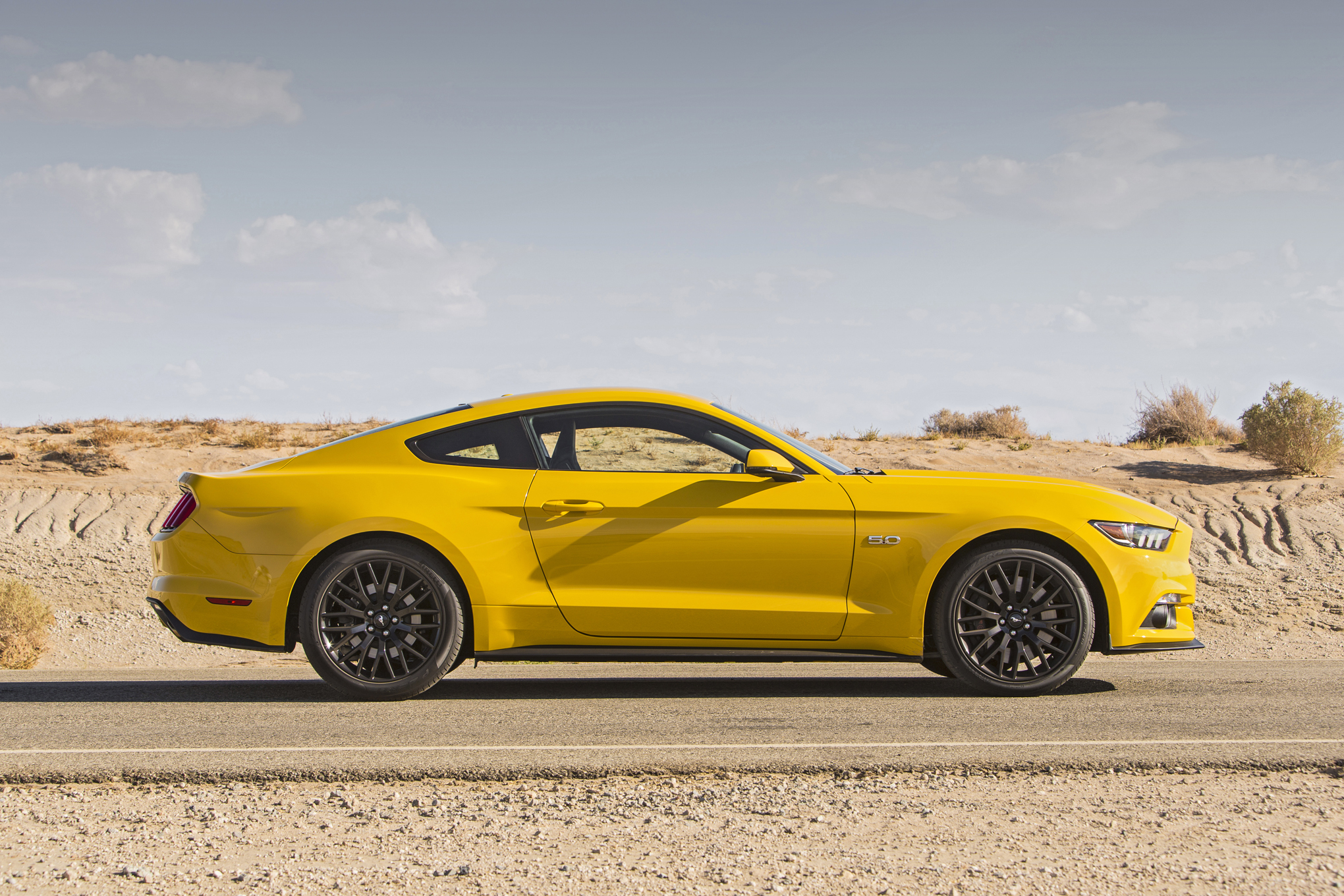 2015 Ford Mustang GT Side Exterior