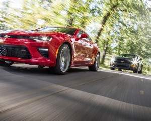 2016 Chevrolet Camaro SS and 2015 Ford Mustang GT Comparison