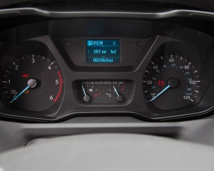 2015 Ford Transit 150 EcoBoost Speedometer