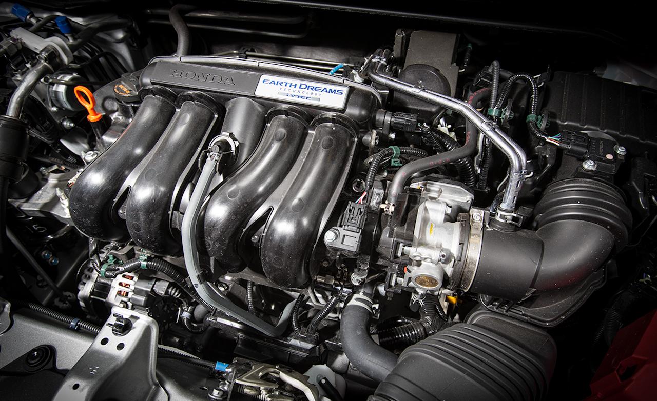 2015 Honda Fit EX 1.5-Liter Inline-4 Engine
