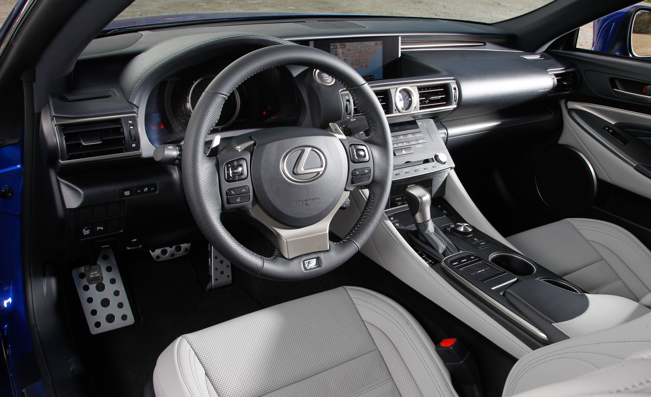 2015 Lexus RC350 F Sport Cockpit Interior
