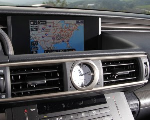 2015 Lexus RC350 F Sport Head Unit