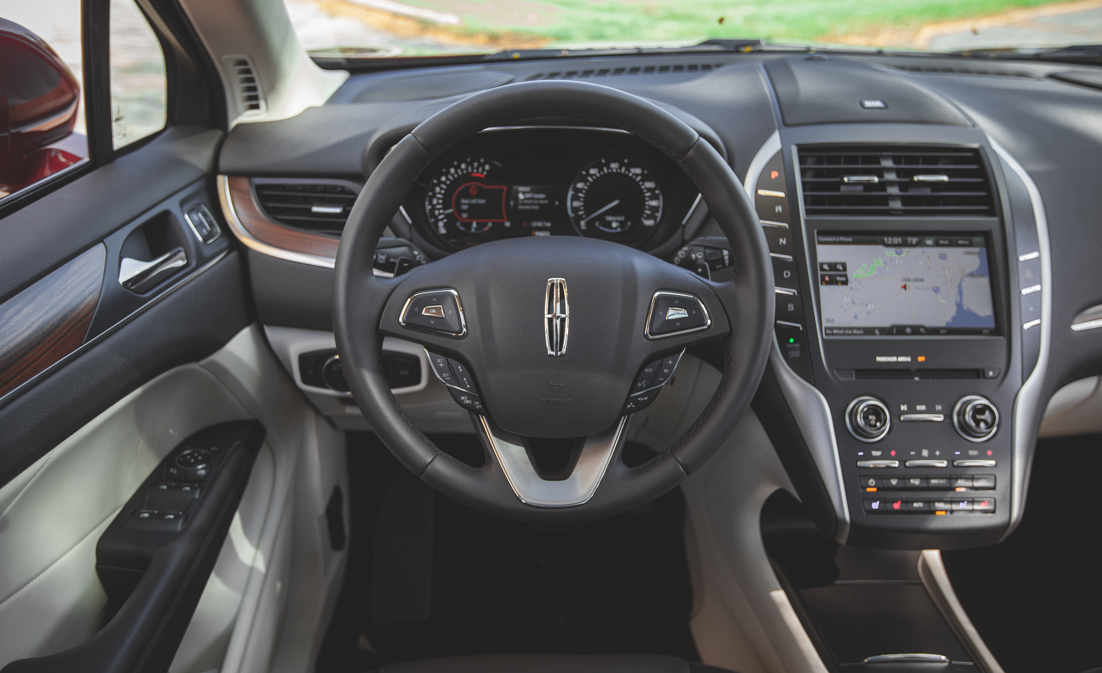 2015 Lincoln MKC 2.3 EcoBoost AWD Steering Wheel