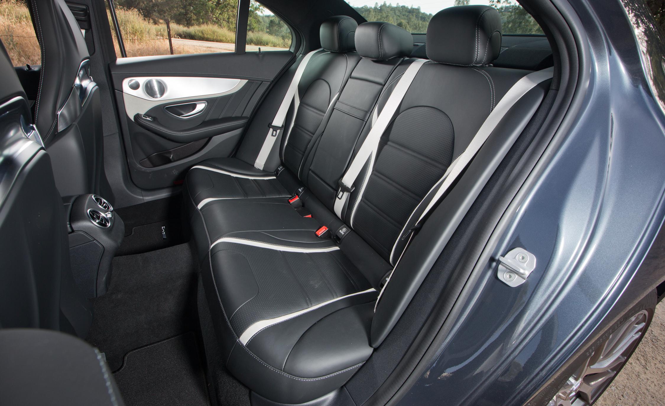 2015 mercedes amg c63 s model rear seats interior