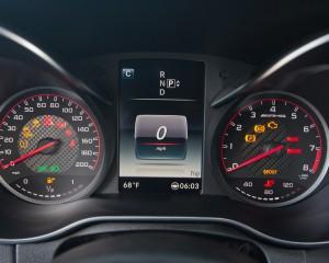 2015 Mercedes-AMG C63 S-Model Speedometer