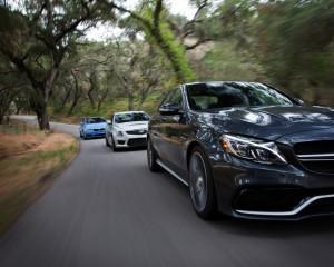 2015 Mercedes-AMG C63 S vs 2015 BMW M3 vs 2016 Cadillac ATS-V
