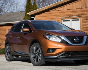 2015 Nissan Murano Platinum AWD Exterior Front and Side