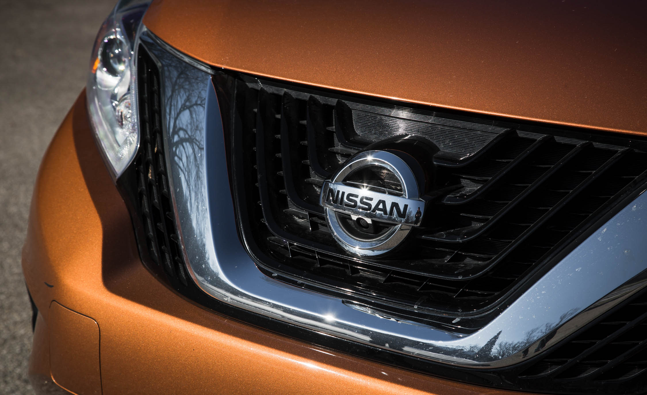 2015 Nissan Murano Platinum AWD Exterior Grille