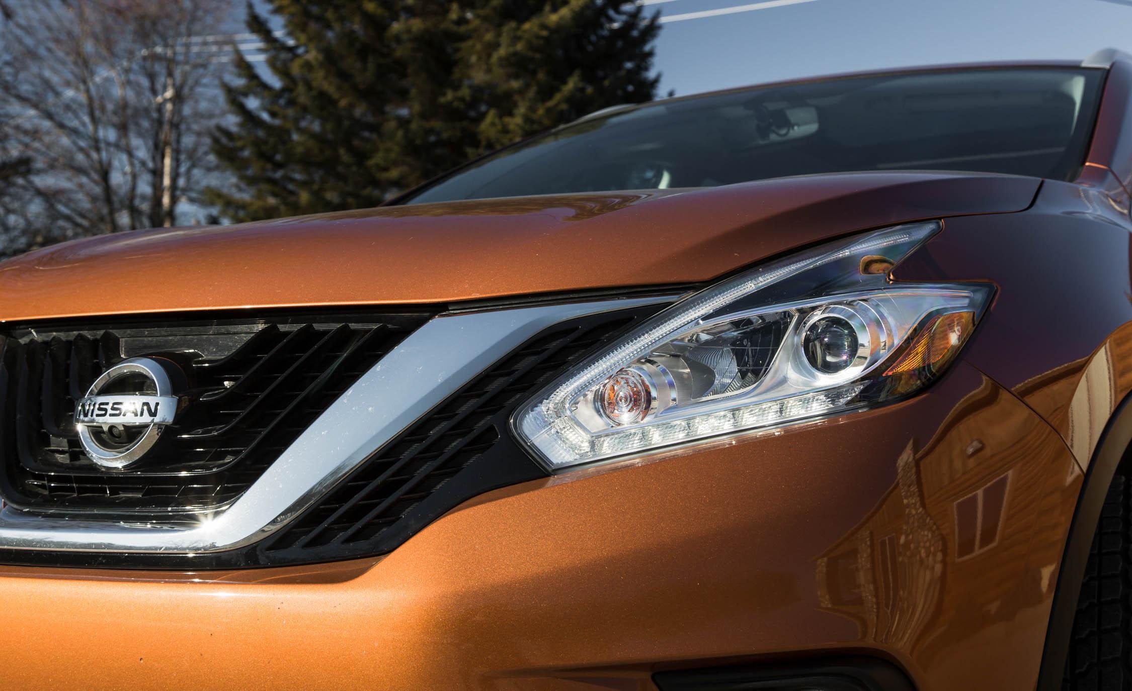 2015 Nissan Murano Platinum AWD Exterior Headlight