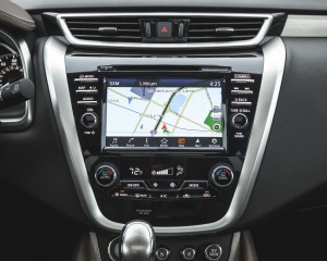 2015 Nissan Murano Platinum AWD Interior Center Head Unit