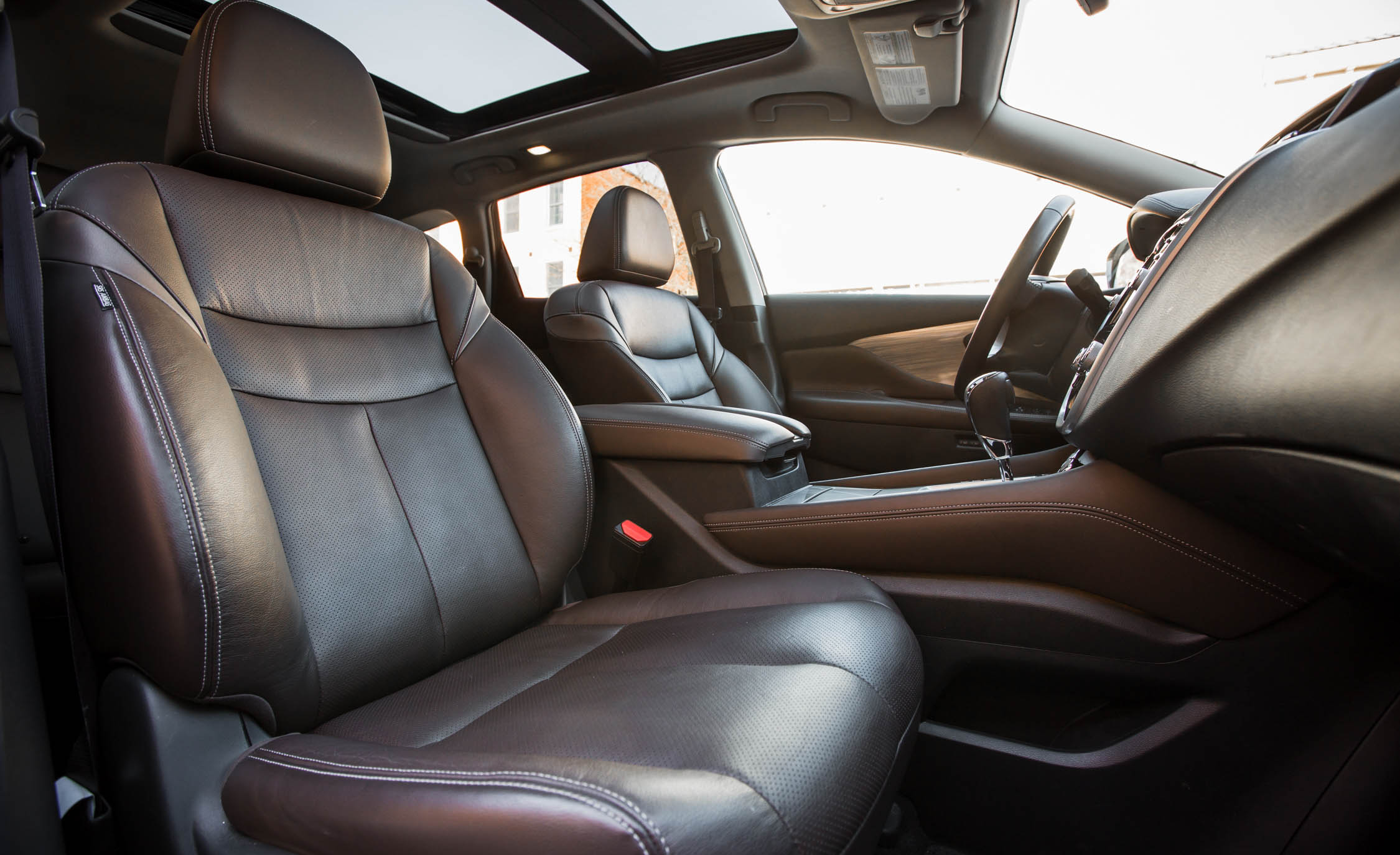 2015 nissan murano platinum awd interior front passenger. Black Bedroom Furniture Sets. Home Design Ideas