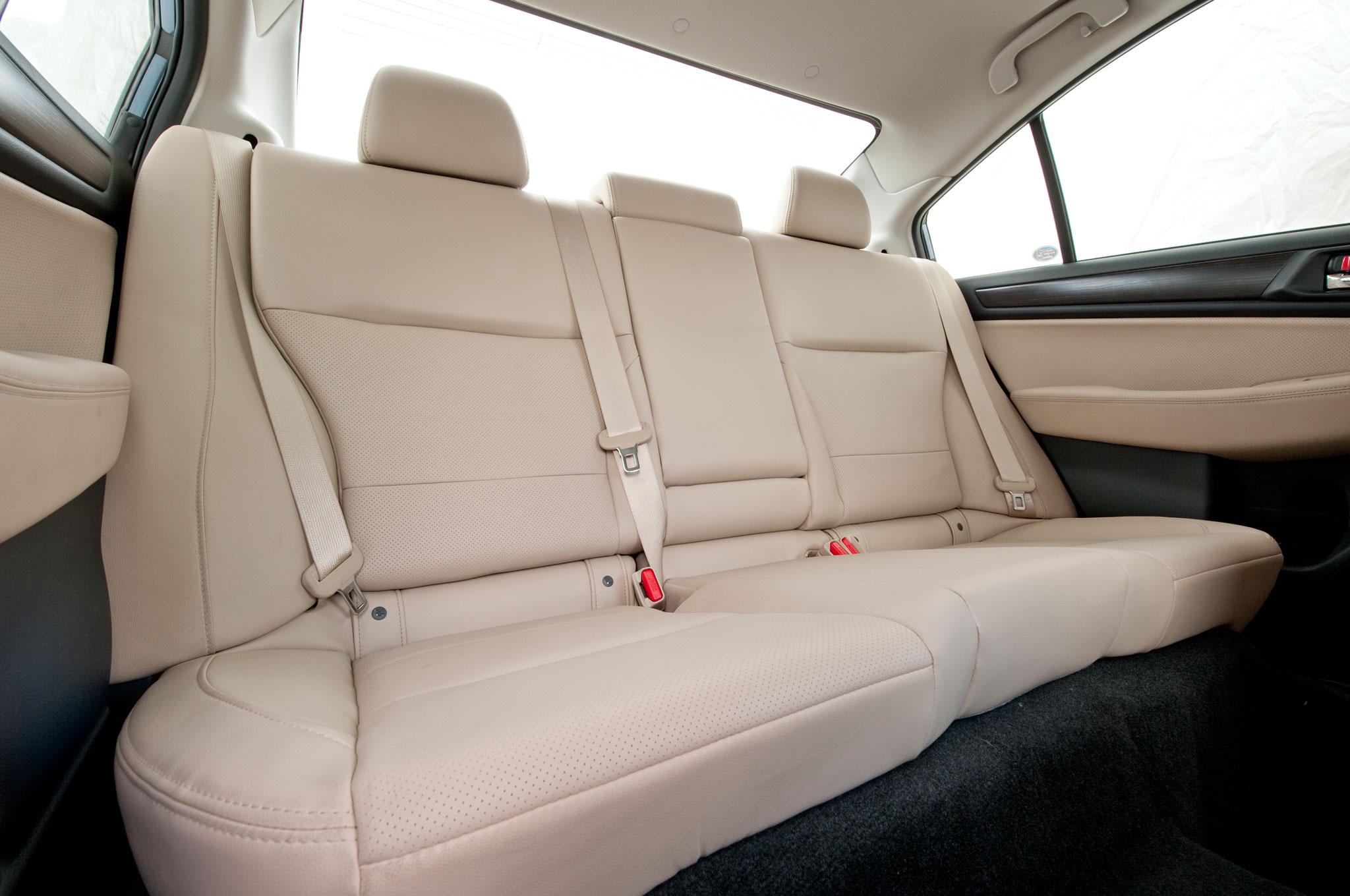 2015 Subaru Legacy 2.5i Limited PZEV Rear Seats Interior