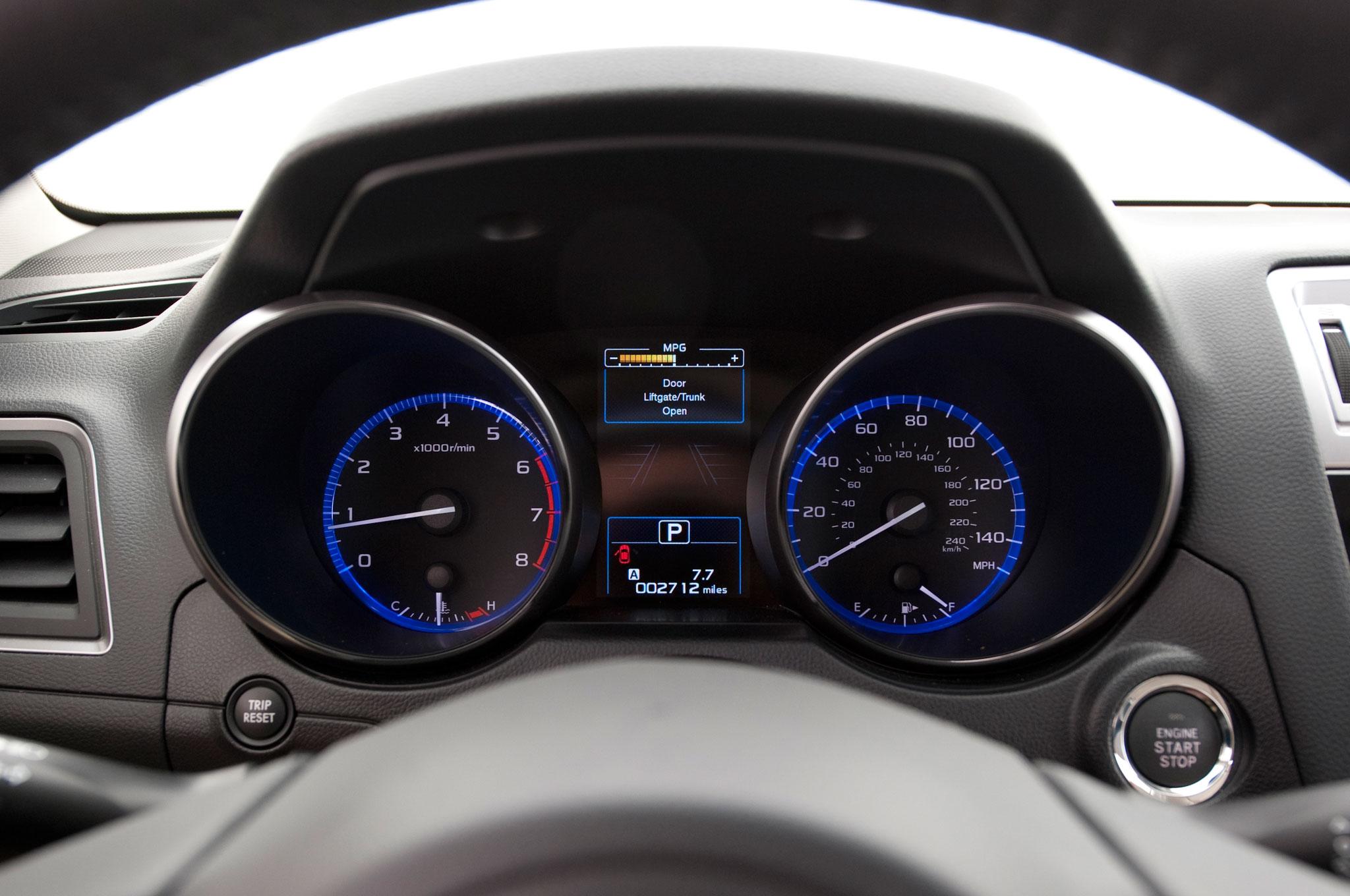 2015 Subaru Legacy 2.5i Limited PZEV Speedometer