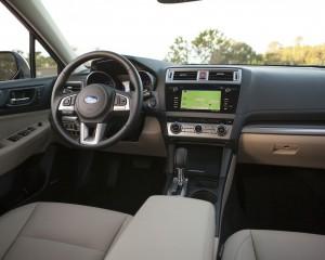 2015 Subaru Legacy Cockpit Interior