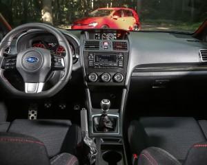 2015 Subaru WRX Interior Cockpit and Dashboard