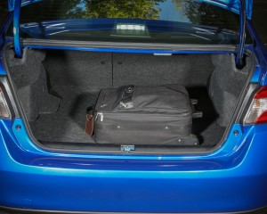 2015 Subaru WRX Trunk Space
