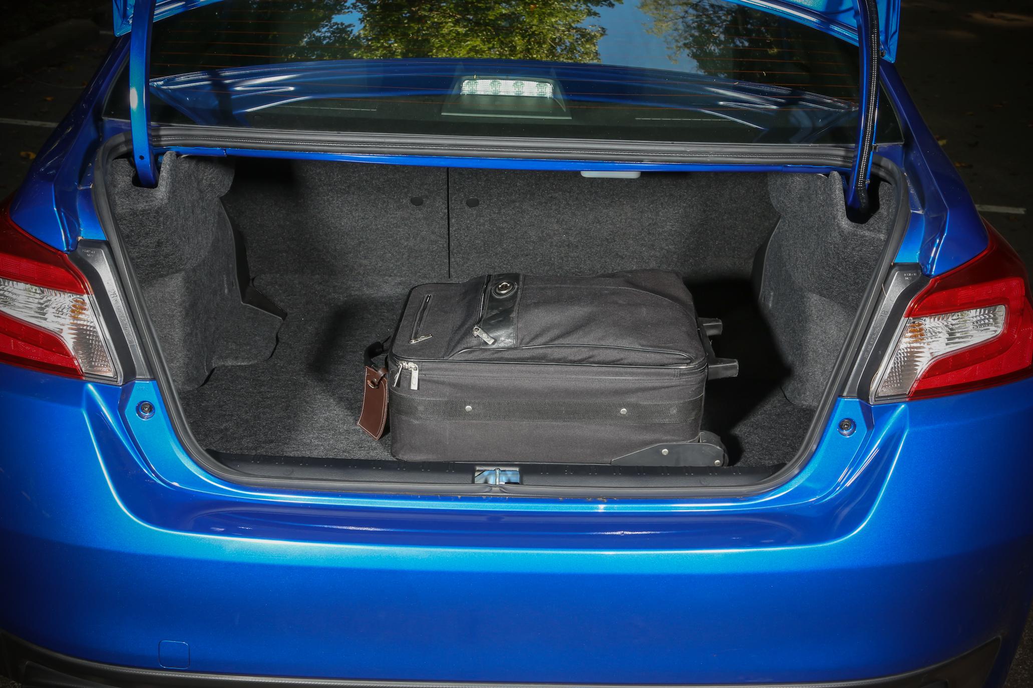 2015 Subaru WRX Trunk Space