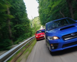 2015 Subaru WRX vs Volkswagen GTI Head 2 Head