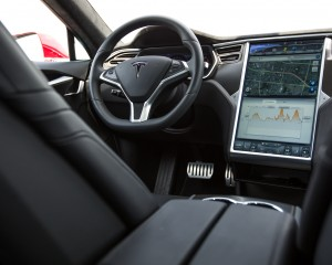 2015 Tesla Model S P85D Cockpit and Head Unit