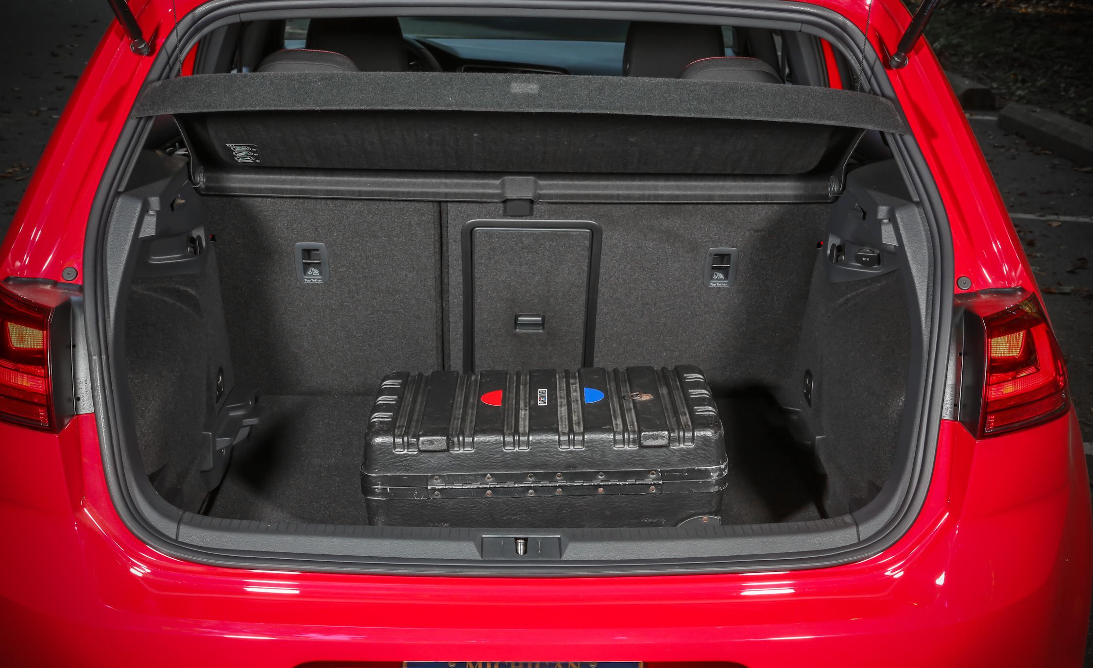 2015 Volkswagen GTI 5-Door Cargo Area