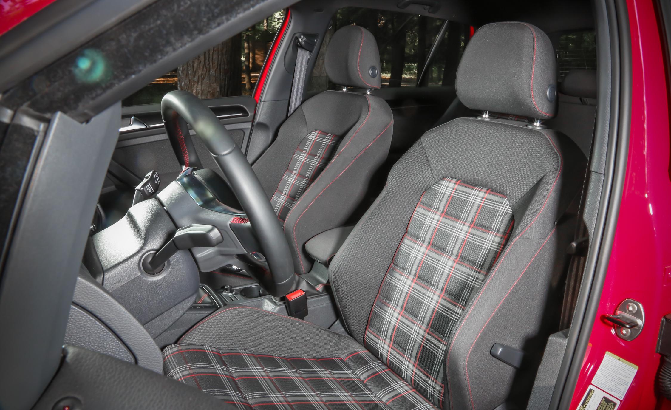 2015 Volkswagen GTI Front Seats Interior