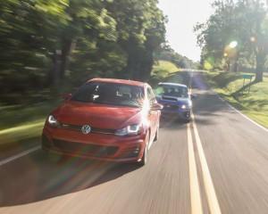 2015 Volkswagen GTI and 2015 Subaru WRX