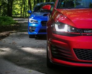 2015 Volkswagen GTI vs Subaru WRX Headlamp Design Comparison