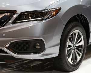 2016 Acura RDX Headlamp and Wheel Trim Preview