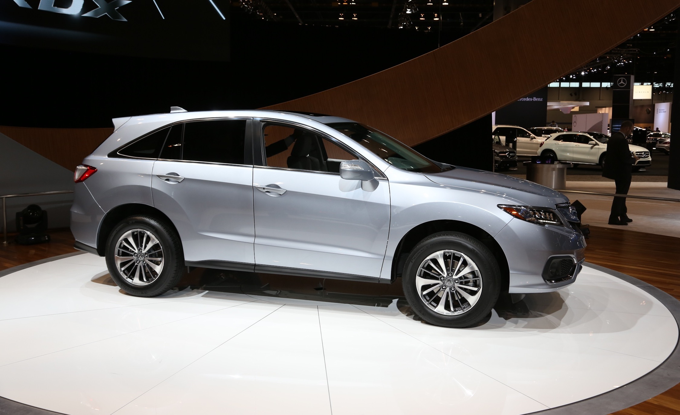 the luxurious crossover of 2015 chicago auto show 2016 acura rdx 6495 cars performance. Black Bedroom Furniture Sets. Home Design Ideas