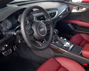 2016 Audi S7 Sedan Cockpit Interior