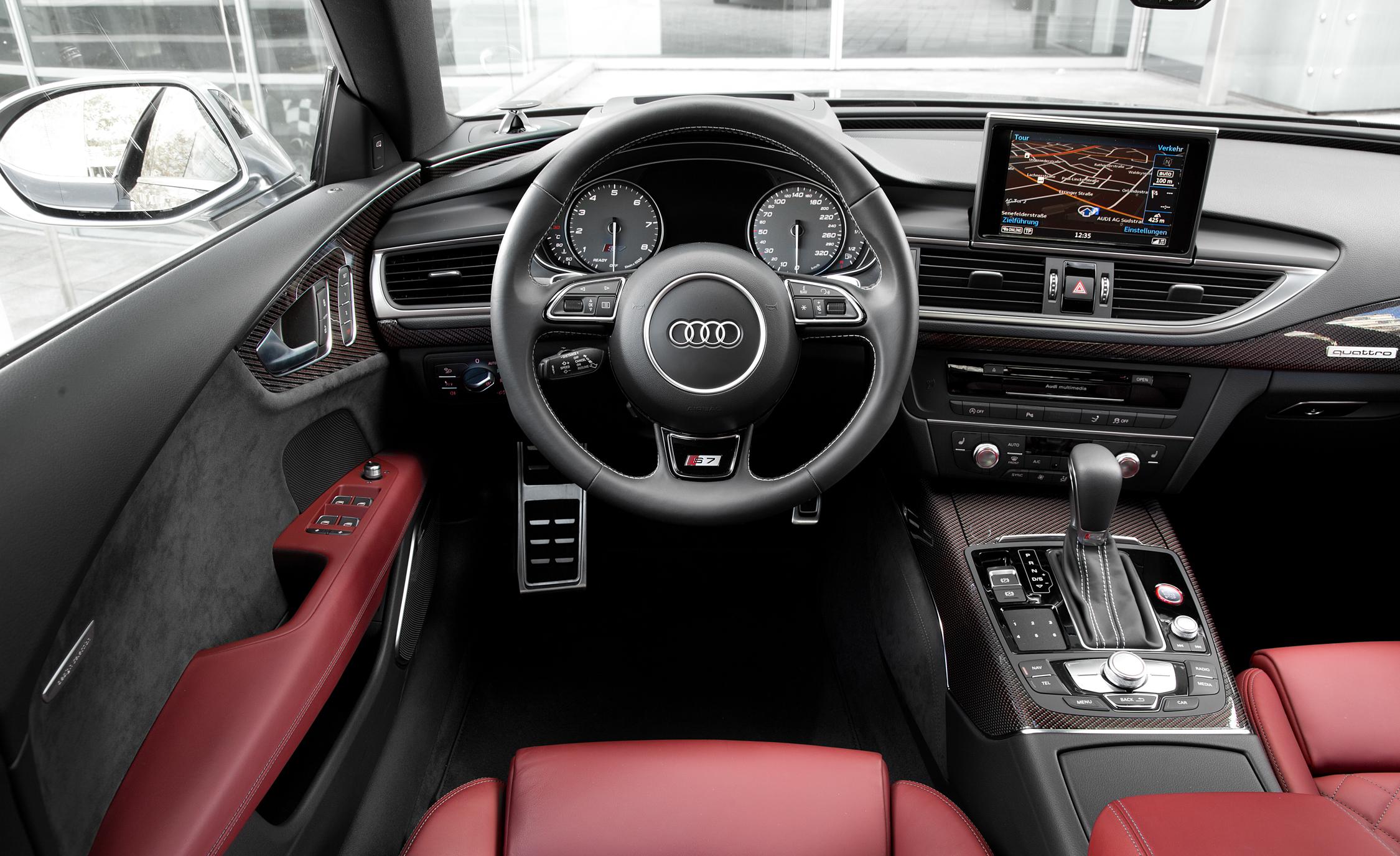 2016 Audi S7 Sedan Cockpit