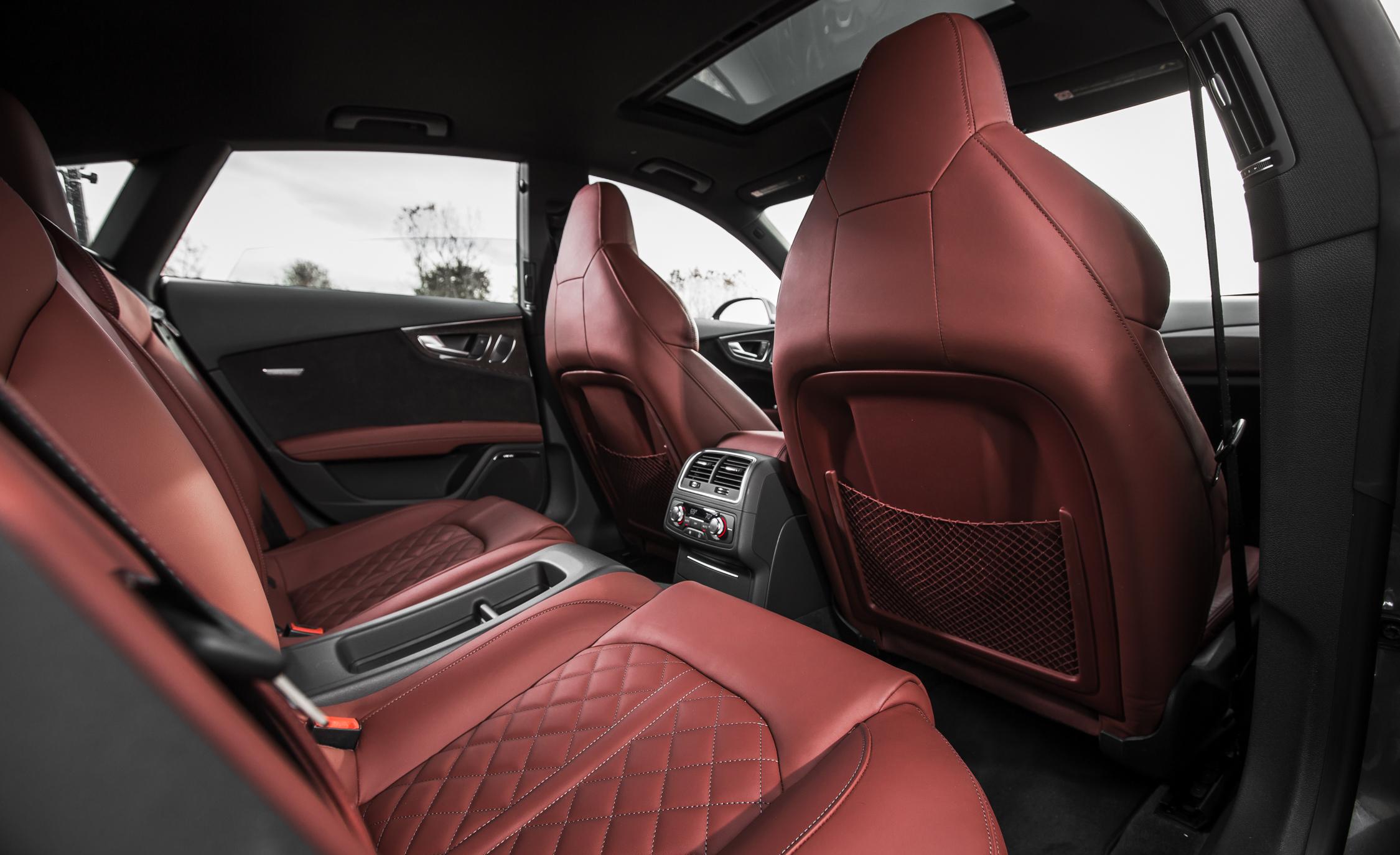 2016 Audi S7 Sedan Rear Interior
