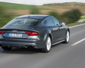 2016 Audi S7 Sedan Rear View