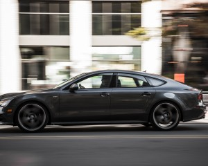 2016 Audi S7 Sedan Side Exterior