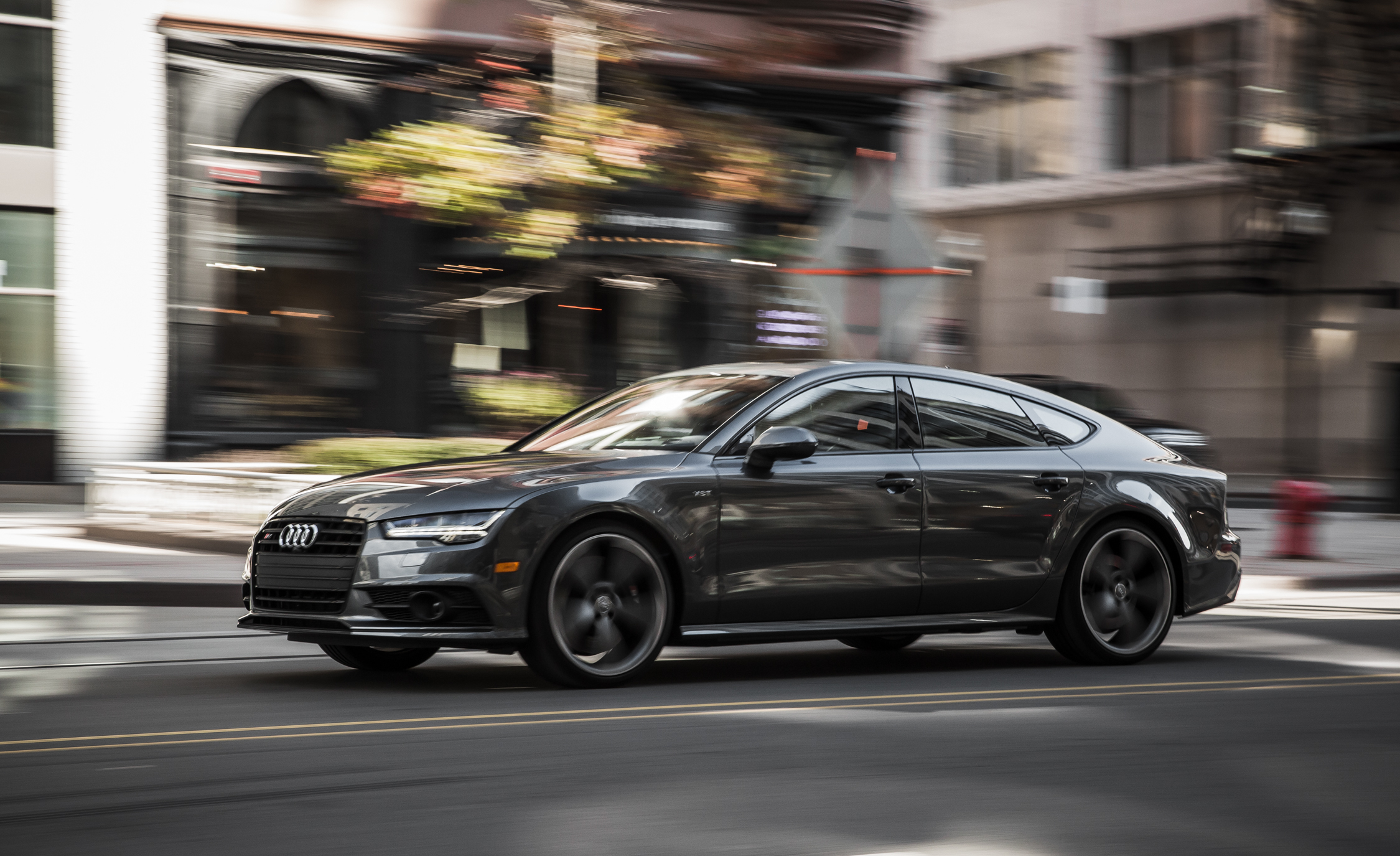 2016 Audi S7 Sedan Test