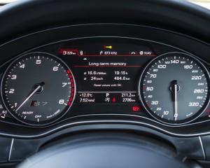2016 Audi S7 Speedometer