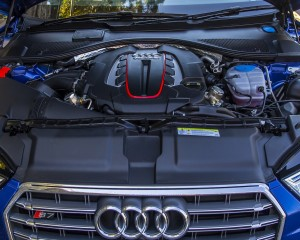 2016 Audi S7 Twin-Turbocharged V-8 Engine