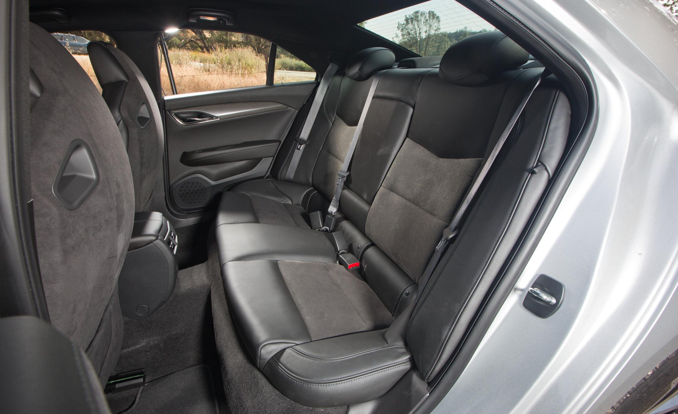 2016 Cadillac ATS-V Rear Seats Interior
