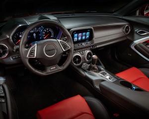 2016 Chevrolet Camaro SS Cockpit Interior