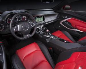 2016 Chevrolet Camaro SS Dashboard and Interior